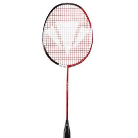 Badminton raketa Carlton VAPOUR Vapour Extreme Tour čierna/červená