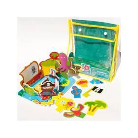 Sada Meadow Kids Pěnové hračky do vany - Ostrov pokladů