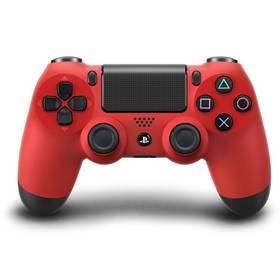 Gamepad Sony Dual Shock 4 pro PS4 - červený (PS719200994) červený