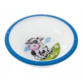 Canpol babies s protiskluzovým dnem kravička modrá