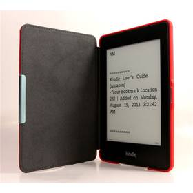 C-Tech AKC-05 pro Amazon Kindle PaperWhite, Wake / Sleep, hardcover (AKC-05R) červené