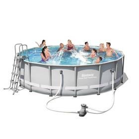 Bestway Steel Frame Pool 488 x 122 cm, 56451 + Doprava zdarma