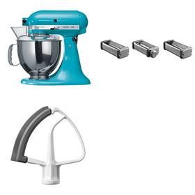 Set KitchenAid - kuchyňský robot 5KSM150PSECL + KPRA strojek na těstoviny + Doprava zdarma