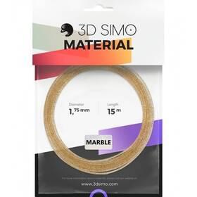 3D SIMO MARBLE - zlatá 15m (G3D3011)