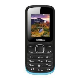 MaxCom Classic MM128 Dual SIM (MM128BK/BLDS) černý/modrý