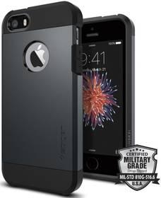 Kryt na mobil Spigen Tough Armor pro Apple iPhone 5/5s/SE - metal slate (041CS20187)