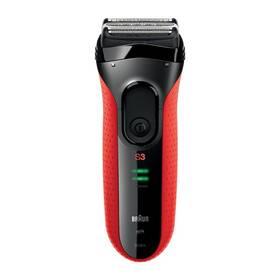 Braun Series 3-3030s čierny/červený