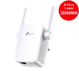 TP-Link RE305 AC1200 + IP TV na 1 měsíc ZDARMA (RE305) bílý