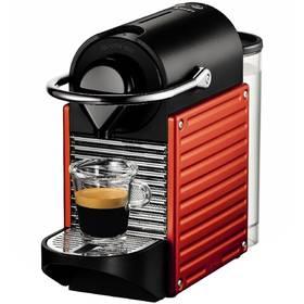 Krups Nespresso Pixie XN3006 černé/červené + Doprava zdarma