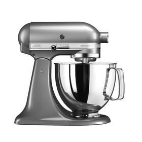 KitchenAid Artisan 5KSM125ECU stříbrný Příslušenství k robotu KitchenAid 5KFE5T plochý šlehač se stěrkou (zdarma)Příslušenství k robotu KitchenAid KB3SS nerezová mísa (3l) (zdarma) + Doprava zdarma