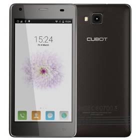 CUBOT Echo Dual SIM 16GB (PH2768) černý SIM s kreditem T-Mobile 200Kč Twist Online Internet (zdarma)