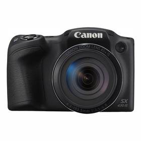 Digitální fotoaparát Canon PowerShot PowerShot SX430 IS (1790C002) černý (vrácené zboží 8800253134)
