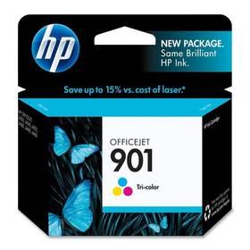 HP No. 901, 360 stran - originální (CC656AE) červená/modrá/zelená