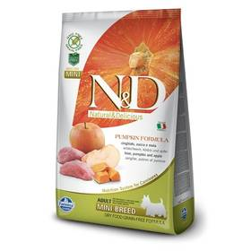 N&D Grain Free Pumpkin DOG Adult Mini Boar & Apple 7kg + Doprava zdarma