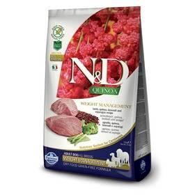 N&D Grain Free Quinoa DOG Weight Mnmgnt Lamb & Broccoli 2,5 kg + Doprava zdarma