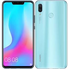 Huawei nova 3 (SP-NOVA3LOM) modrý SIM s kreditem T-Mobile 200Kč Twist Online Internet (zdarma)