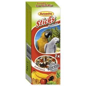 Avicentra Tyčinka veľký papagáj ovocná 2 ks