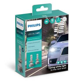 Philips LED H7 Ultinon Pro5000 HL 2 ks (11972U50CWX2)