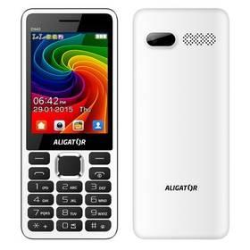 Aligator D940 Dual Sim (AD940WG) bílý