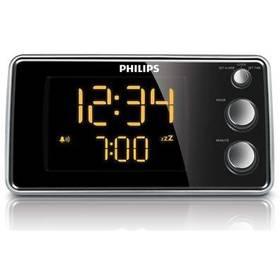 Philips Clock radio AJ 3551 čierny/strieborný