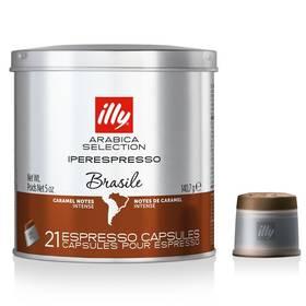 Illy Iperespresso Monoarabica Brazil 21 ks (315403) (poškozený obal 2580006884)