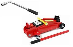 Akční set - hever hydraulický pojízdný 2 t + teleskopický klíč na kola + Doprava zdarma