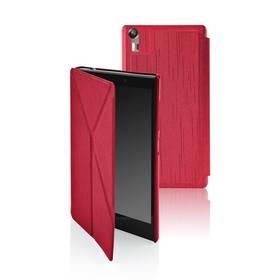 Puzdro na mobil flipové GoGEN pro Lenovo VIBE SHOT červené