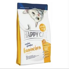 HAPPY CAT SENSITIVE Grainfree Kaninchen - Králík 4 kg