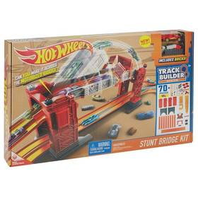 Mattel track builder padací most