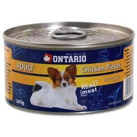 Ontario Adult kuřecí kousky a kuřecí nugety 200g