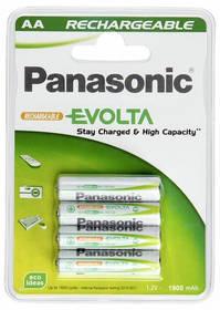 Panasonic Evolta AA, HR6, 1900mAh, blistr ks