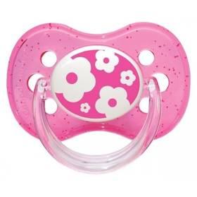 Canpol babies NATURE silikonové třešinka 6-18m růžové