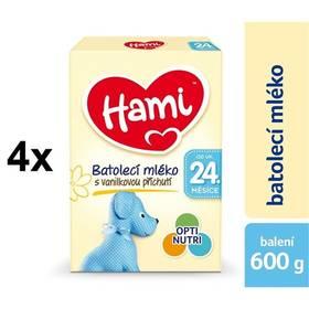 Hami 4 Vanilka od ukončeného 24. měsíce, 600g x 4ks + Doprava zdarma