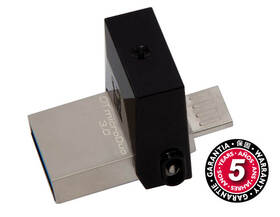 Kingston DataTraveler Micro Duo 3.0 32GB OTG MicroUSB/USB 3.0 (DTDUO3/32GB) černý