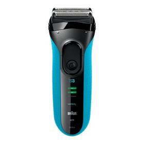 Braun Series 3-3045s Wet&Dry černý/modrý