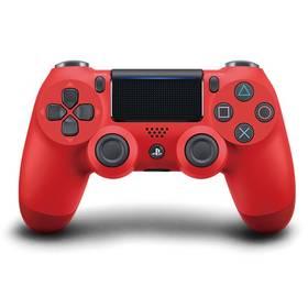 Sony Dual Shock 4 pro PS4 v2 (PS719814153) červený + Doprava zdarma