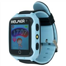 Fotografie Chytré hodinky Helmer LK 707 dětské s GPS lokátorem modrý (Helmer LK 707 B)