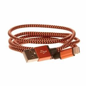 CellFish USB/Lightning, 1m (IPPLUSBKABELORANGE) oranžový (vrácené zboží 8800213165)