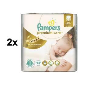 Pampers 2x Premium Care Newborn vel. 1, 78 ks