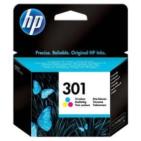 HP No. 301, 165 stran - originální (CH562EE) červená/modrá/žlutá