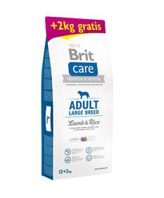Brit Care Adult Large Breed Lamb & Rice 12 kg + 2 kg ZDARMA