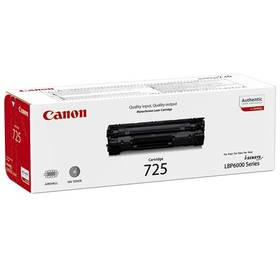 Canon CRG-725, 1,6K stran, originální (3484B002) černý + Doprava zdarma