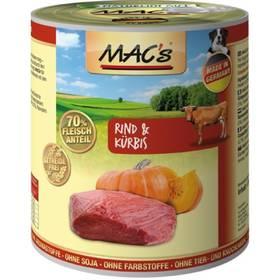 MACs Dog Hovězí a dýně 800g