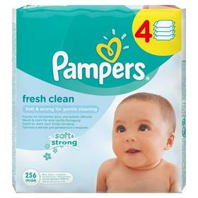 Pampers Baby Fresh clean 256ks