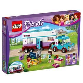 Lego® Friends 41125 Veterinářský přívěs s koněm