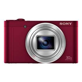 Sony Cyber-shot DSC-WX500 (DSCWX500R.CE3) červený + Doprava zdarma