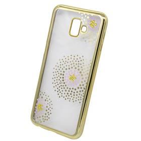 Beeyo Flower Dots pro Samsung Galaxy J6+ (BEASAJ6PFDGO) zlatý c20c8e7bb63