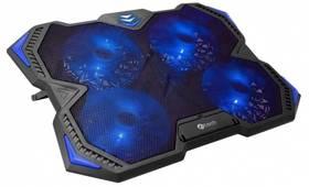 """C-Tech Zefyros, modré podsvícení, pro 17,3"""" (GCP-01B) (vrácené zboží 8800355484)"""