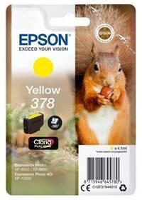 Epson 378, 360 stran (C13T37844010) žlutá