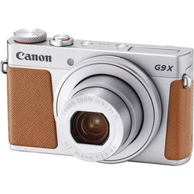 Canon PowerShot PowerShot G9 X Mark II Silver (1718C002) stříbrný + cashback + Doprava zdarma